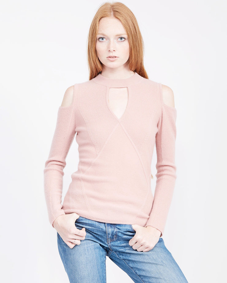 date night sweater pink