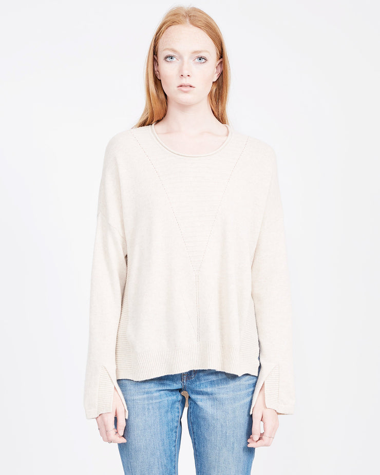 Sophia Cashmere Tunic Sweater
