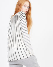 gradient stripe top