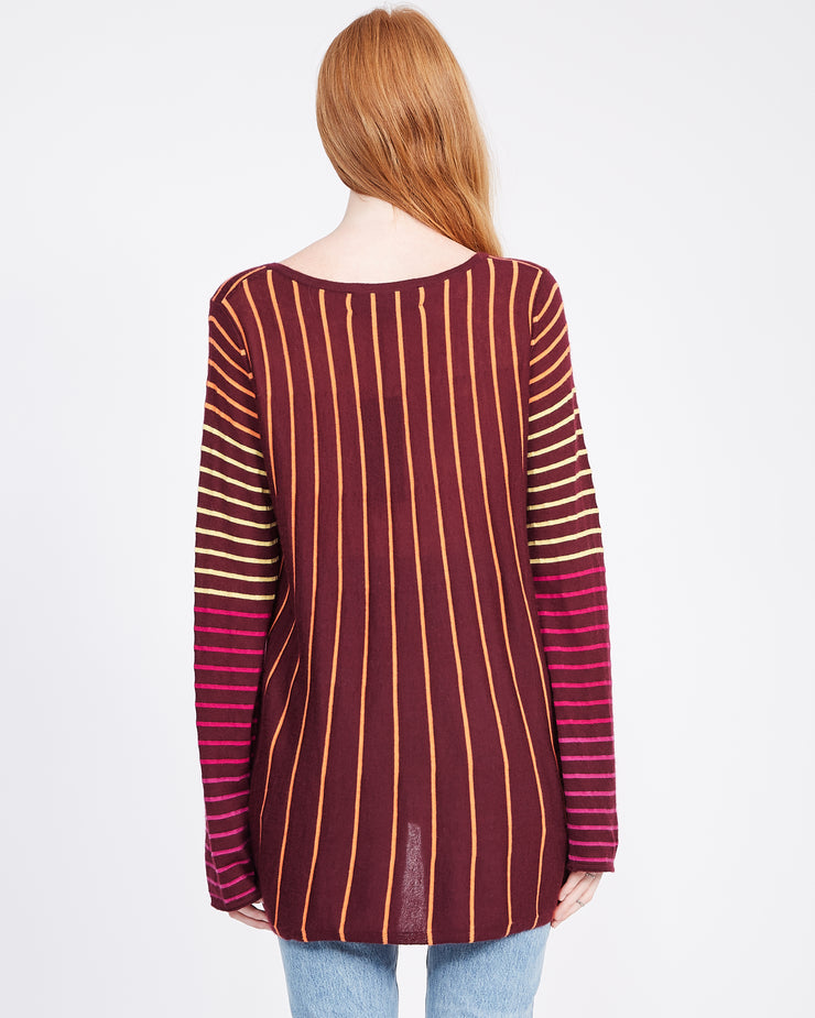 multi stripe swing top