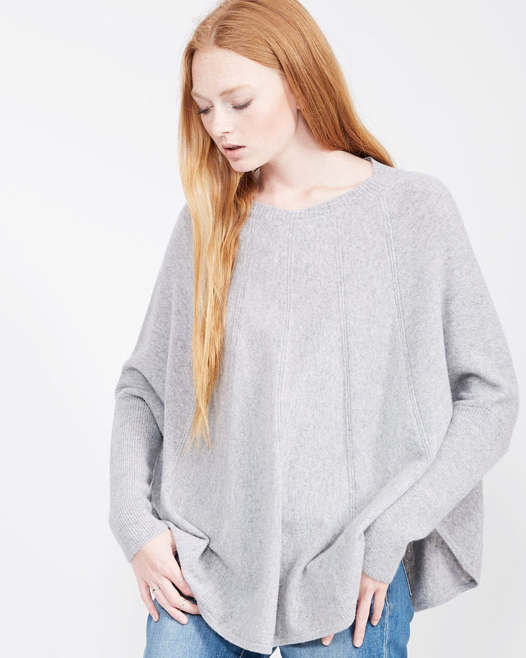 Cashmere Swing Sweater Crew Neck