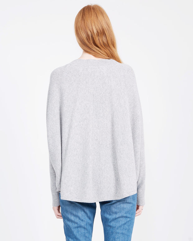 Women's cashmere long sleeve sweater