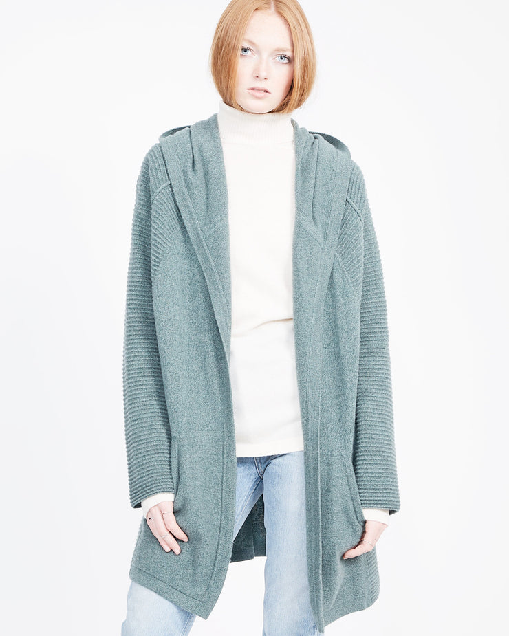 Sustainable cashmere cardigan