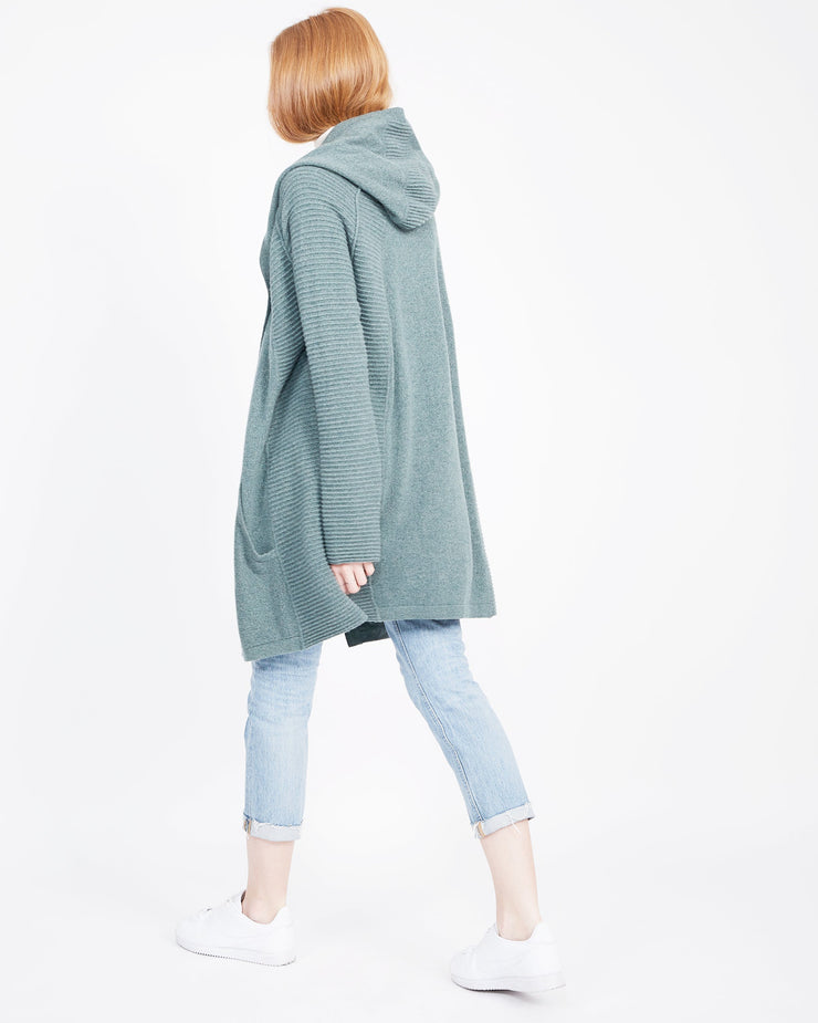 Forest Green Cardigan Women's