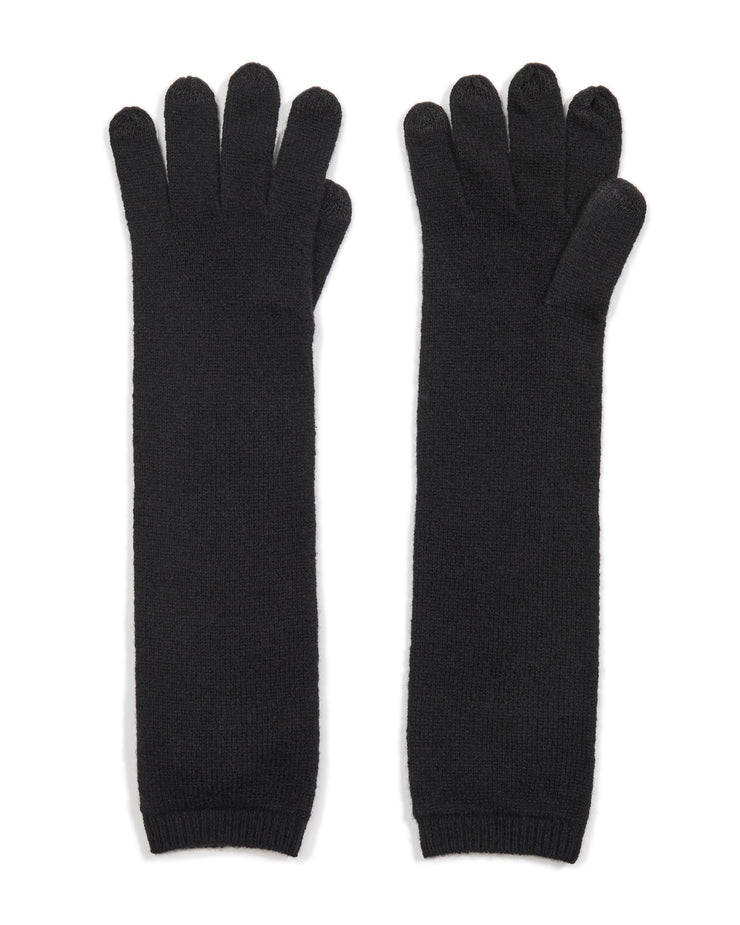 long cashmere gloves