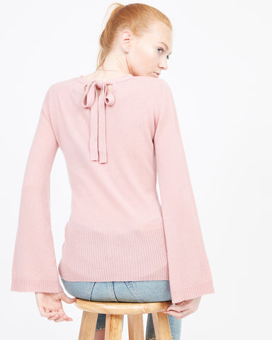 Ingrid Tie Back Sweater