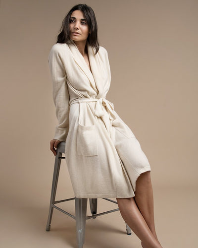 Wool-Cashmere Robe
