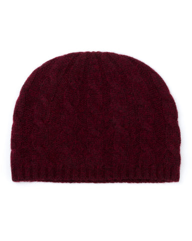 Cable Cashmere Hat