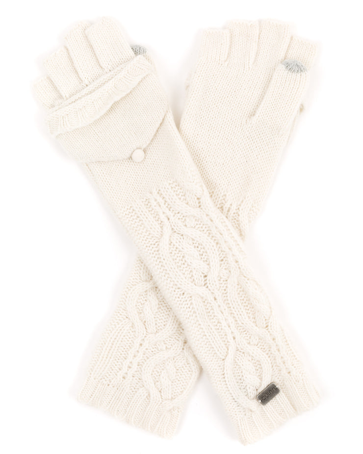must have cable knit gloves