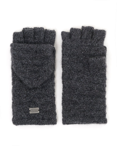 Charlotte Mixed Stitch Pop-top Gloves
