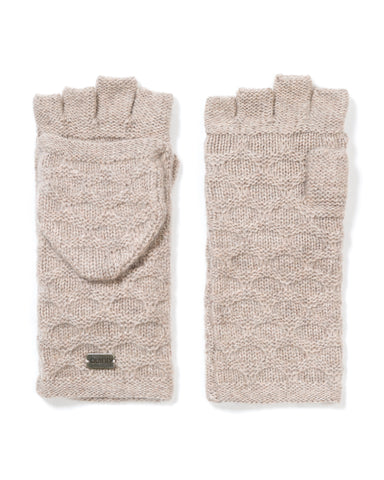 ACCESSORIES - Charlotte Mixed Stitch Pop-top Gloves