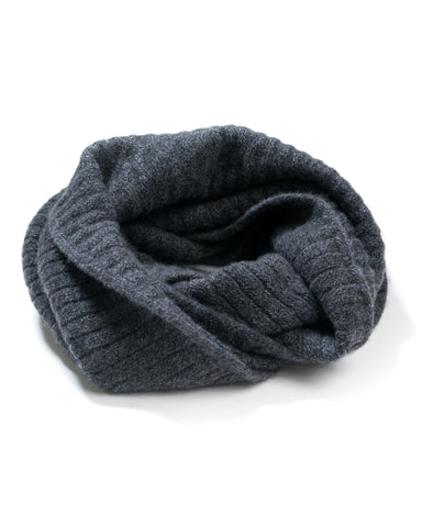 Kara Mixed Stitch Infinity Scarf
