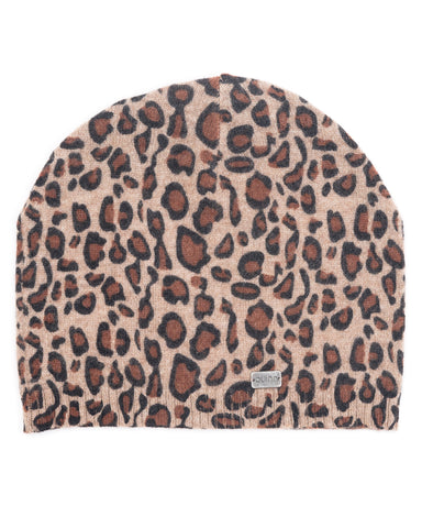 ACCESSORIES - Leopard Print Cashmere Hat