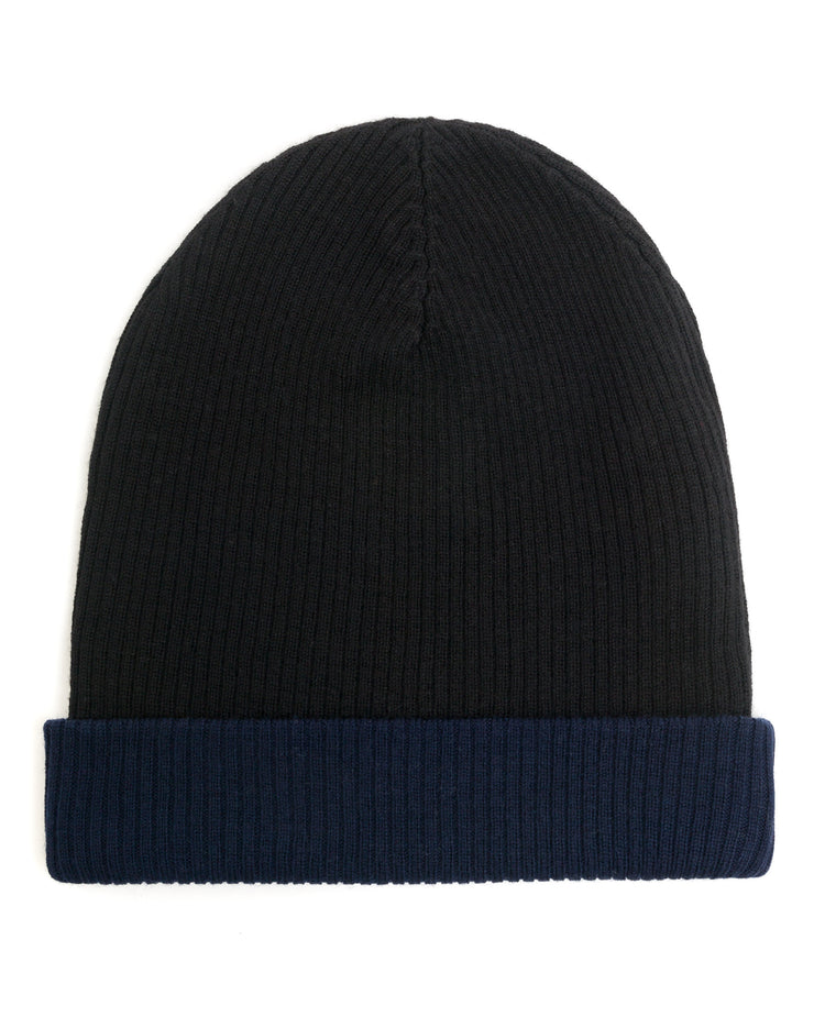 ACCESSORIES - Men's Cuffed Rib Reversible Hat