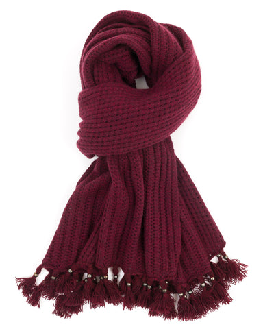 ACCESSORIES - Mixed Stitch Wrap