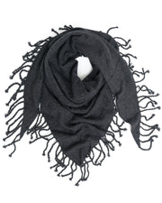 ACCESSORIES - On Dropped Needle Cashmere Shawl