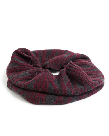 ACCESSORIES - Plaited Cable Infinity Scarf