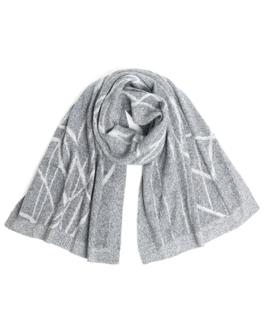 ACCESSORIES - Rubin Plaited Scarf
