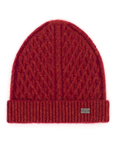 Sabine Faux Cable Hat