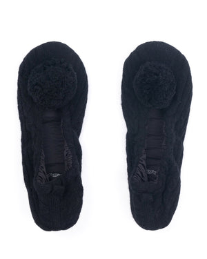 cashmere lounge slippers