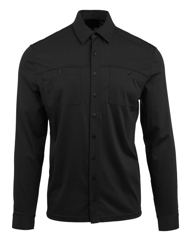 MEN - Franco Jersey Button Down