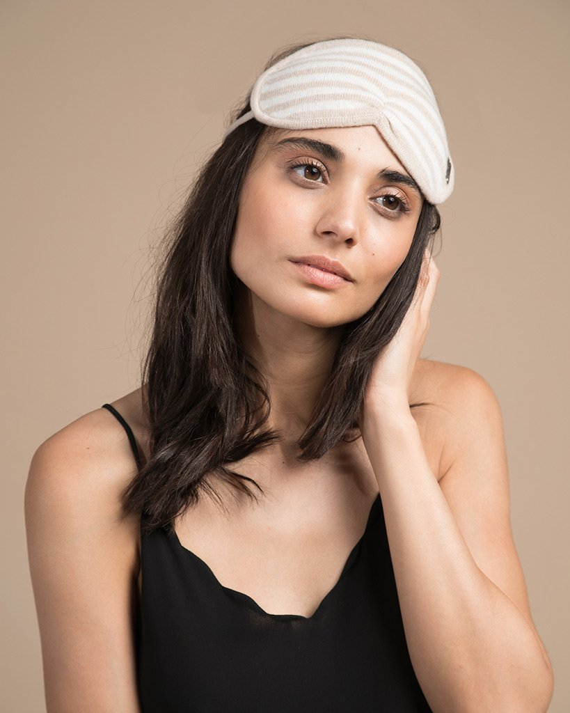 Lights Out Cashmere Eye Mask