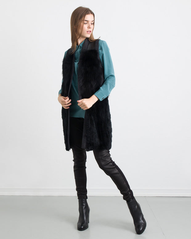 WOMEN - Anna Fur Fly Away Vest