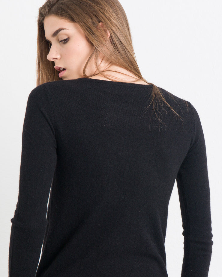 WOMEN - Cordelia Multi Stitch Trapeze Sweater