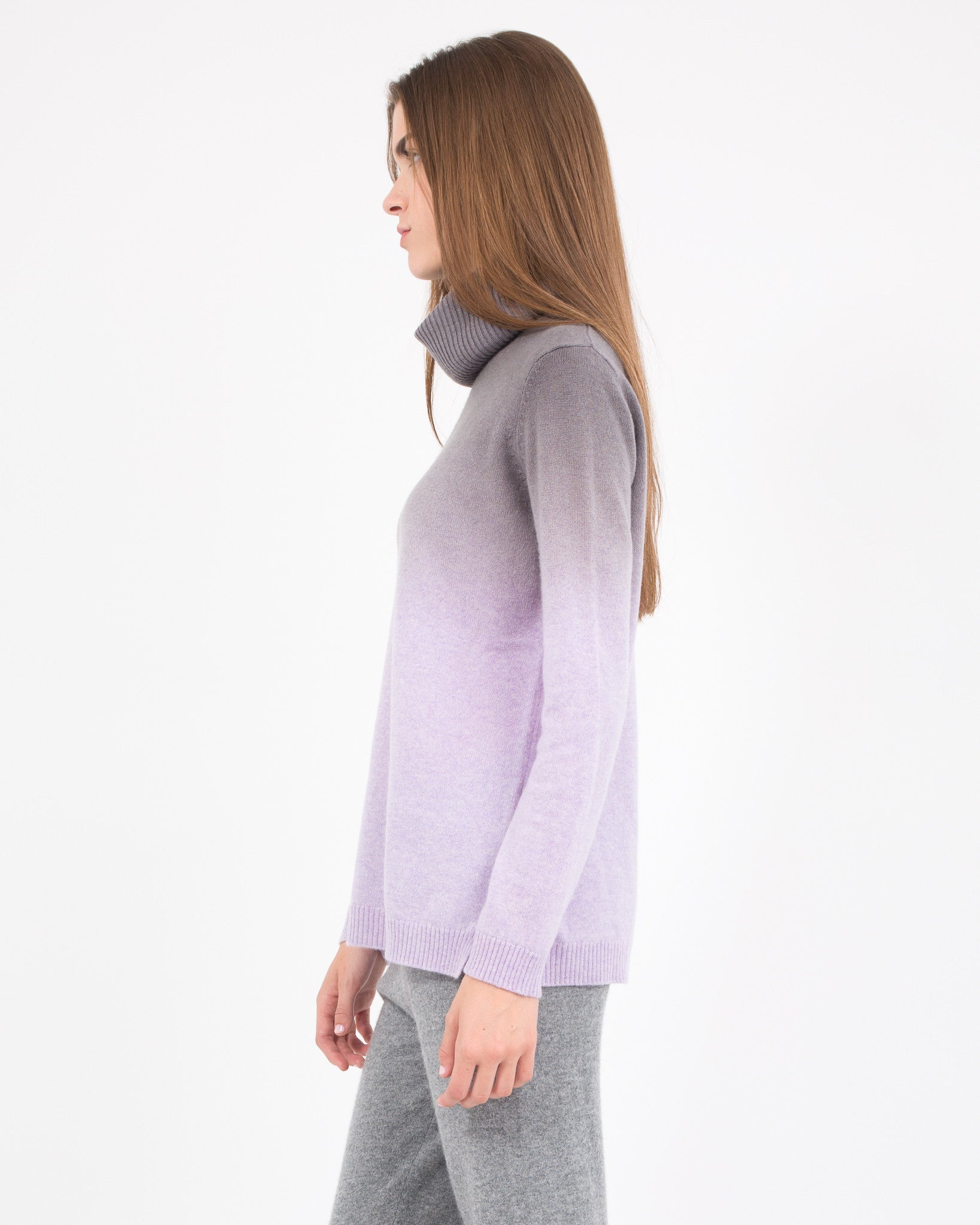 WOMEN - Dip Dye Turtleneck