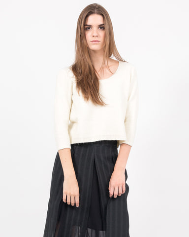 Elexis Cropped Pullover