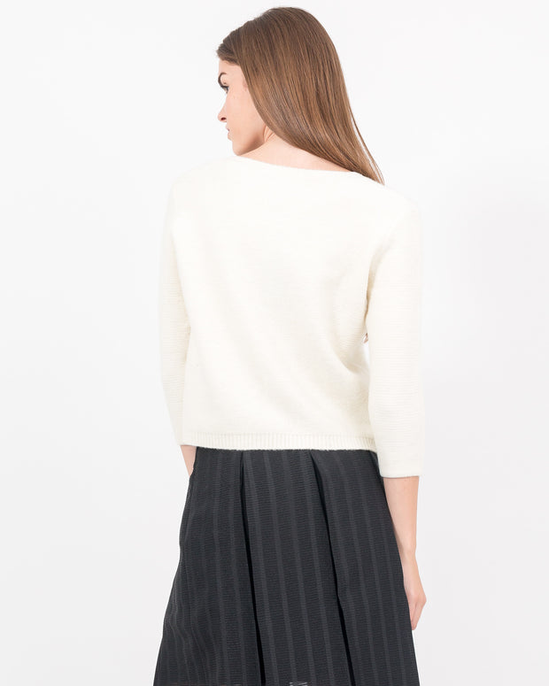 WOMEN - Elexis Cropped Felted Pullover
