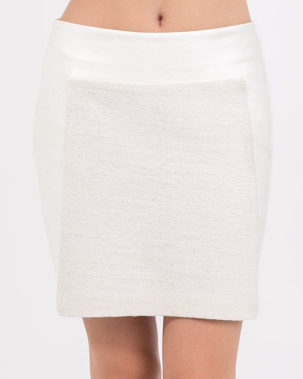 WOMEN - Fiona Mixed Media Skirt