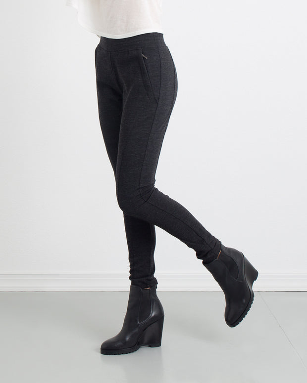 WOMEN - Melanie Double Knit Paneled Legging