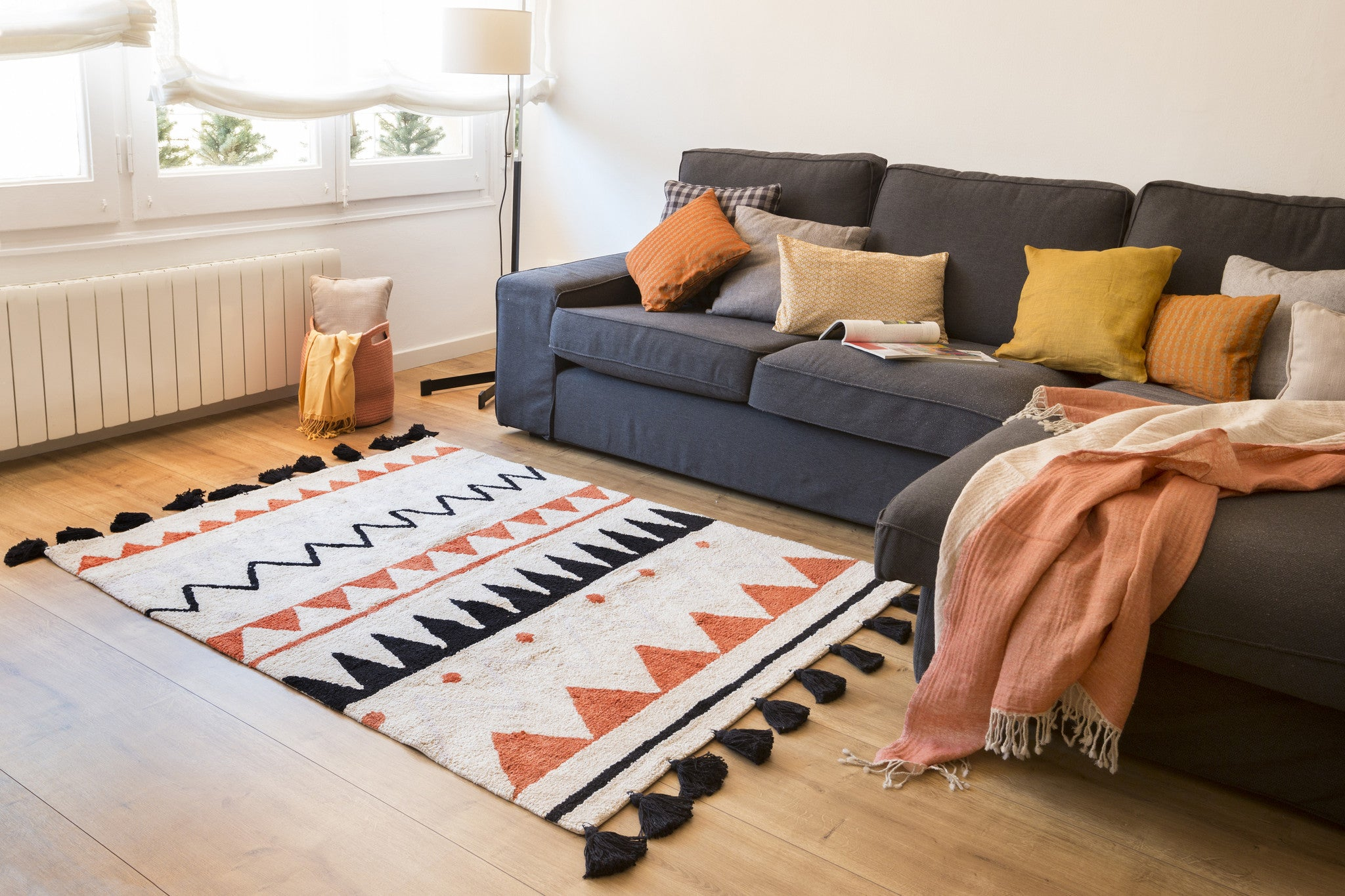Machine Washable Rugs For Living Room