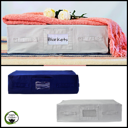 Cotton Storage Bags