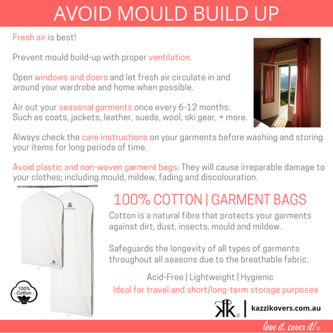 Avoid Mould Build Up