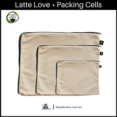 Latte Love | 100% Cotton Packing Cells