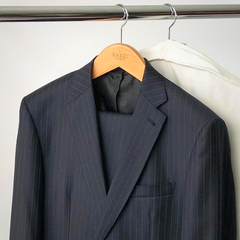 Black Suit with Kazzi Kovers Garment Bag