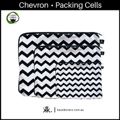 Chevron | 100% Cotton Packing Cells