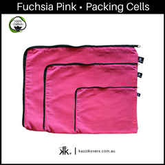 Fuchsia Pink | 100% Cotton Packing Cells
