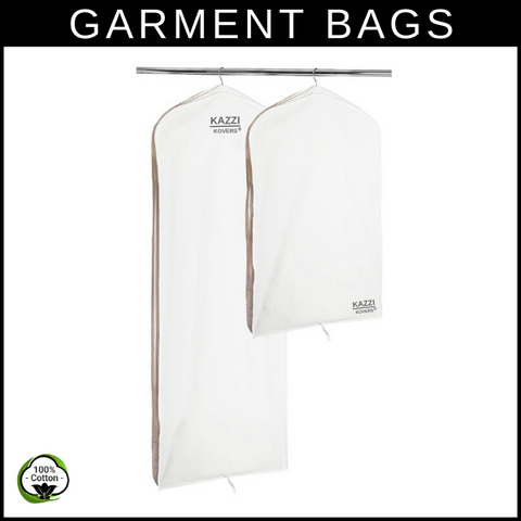 Cotton Garment Bags | Regular and Large (or long)