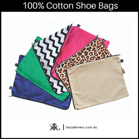 100% Cotton Shoe Bags