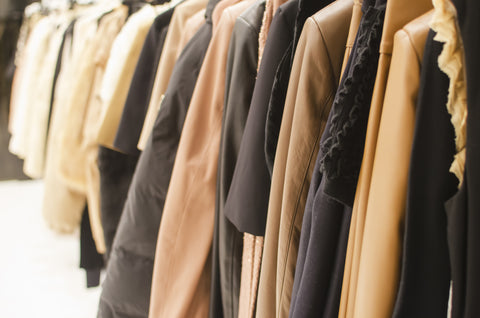 Leather-jackets-on-rack-dressy