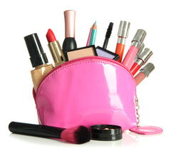 Make up bag with essentials