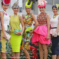 Melbourne Cup Attendees | Hair Fascinators