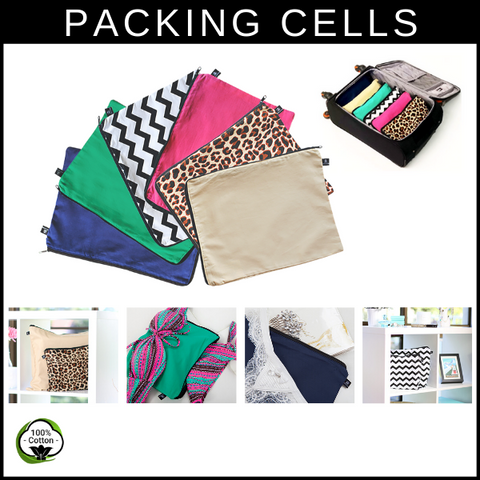 Packing cells and bags