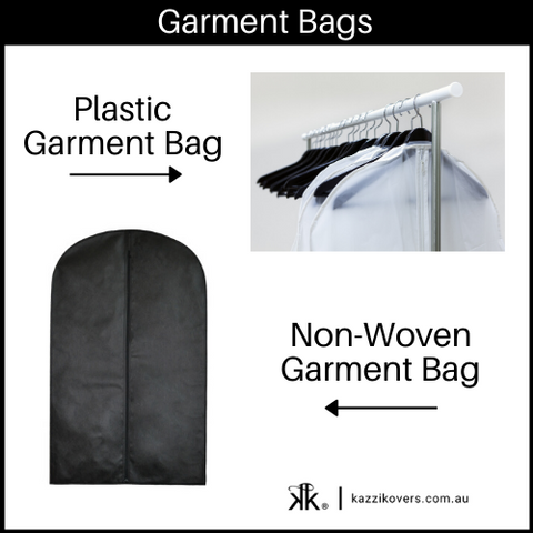 Plastic and Non-Woven Garment Bags