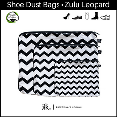 Getting Ziggy (chevron) | 100% Cotton Shoe Bags
