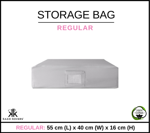 REGULAR Cotton Storage Bag
