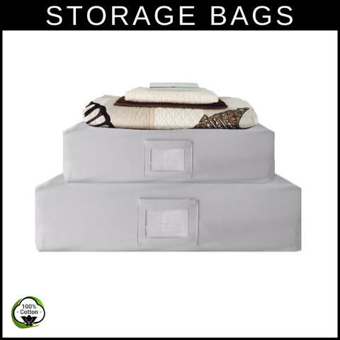 Storage Bags | Care Instructions